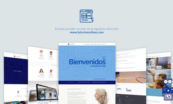 Presentación nueva web del centro
