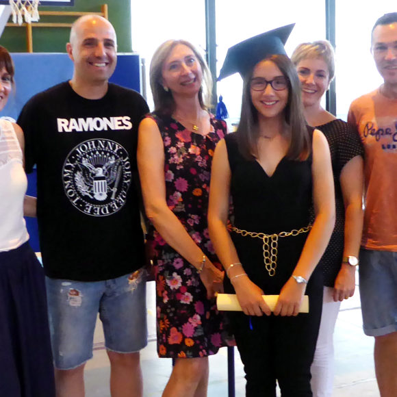 L'alumna Sara Melchor premi extraordinari al rendiment acadèmic 2018