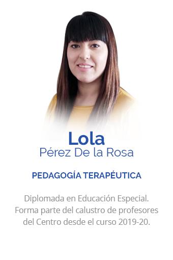 Dolores Pérez De la Rosa
