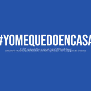 "El C.E.I.P. Luis Vives de Xilxes se suma a la iniciativa ""YoMeQuedoEnCasa"""