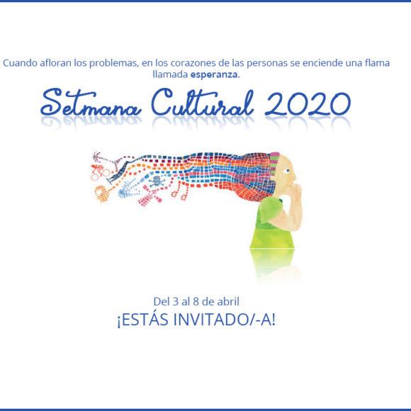 Programación de la semana Cultural 2020