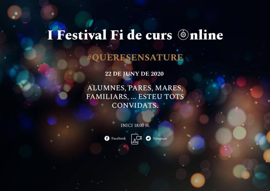 I Festival fin de curso online 2019-2020