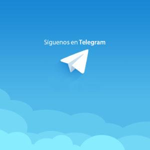 Mantente siempre informado a través de nuestro Telegram